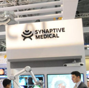 Synaptive Medical was chosen as the...
