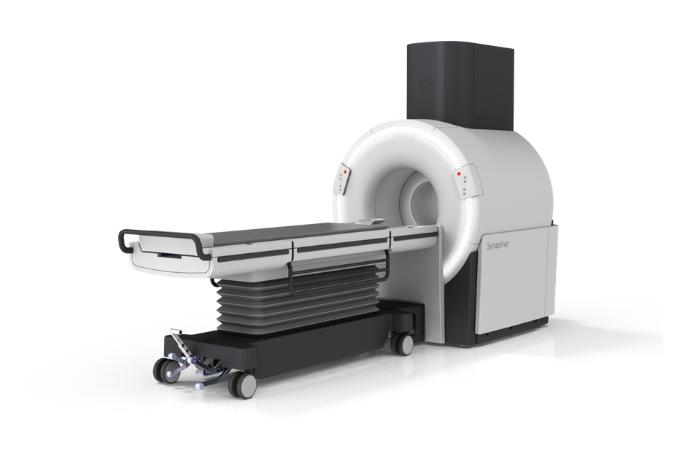 MRI against white background
