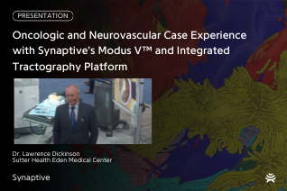 thumbnail with colorful brain background and photo of presenter speaking